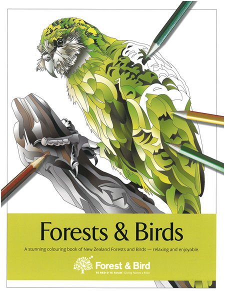 Colouring Books - Forests & Birds