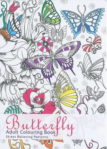 Colouring for Adults - Butterfly