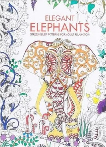 Colouring for Adults - Elegant Elephants