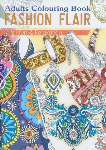 Colouring for Adults - Fashion Flair