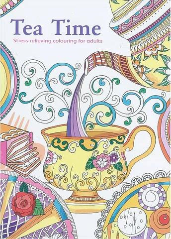 Colouring for Adults - Tea Time
