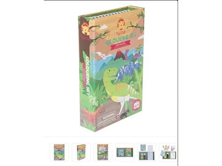Colouring Sets - Dinosaurs