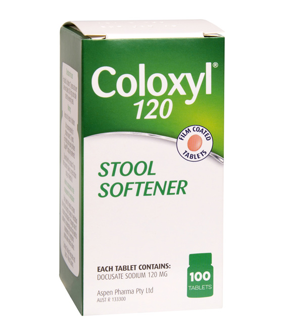 Coloxyl 120mg tablets 100s