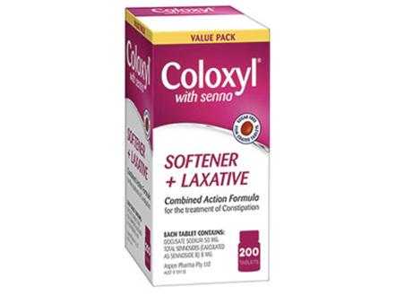 COLOXYL & SENNA 200 TABLETS