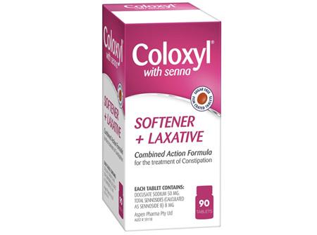 COLOXYL & SENNA TAB 90