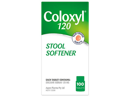 COLOXYL Tabs 120mg 100