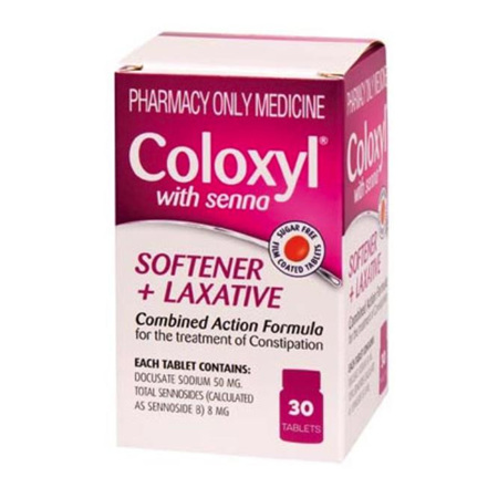 Coloxyl with Senna Tab 50mg (30PK)