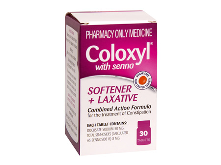 Coloxyl with senna tablets 30s