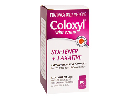 Coloxyl with senna tablets 90s