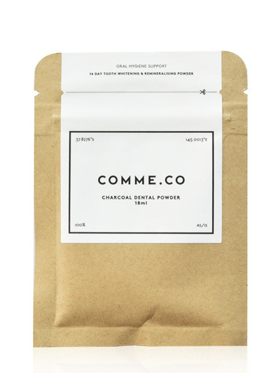 Comme.Co Eco Charcoal Tooth Whitening Powder