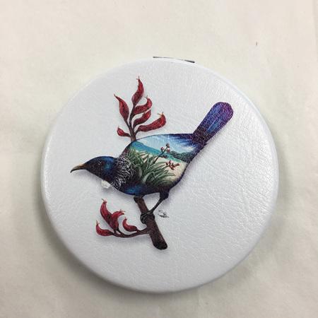 Compact Mirror - Tui Birds Eye View