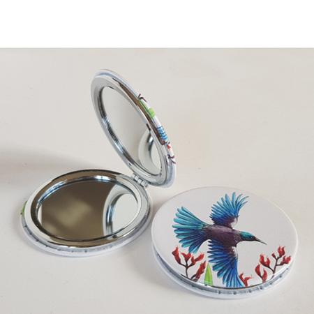 Compact Mirror - Tui in Flight