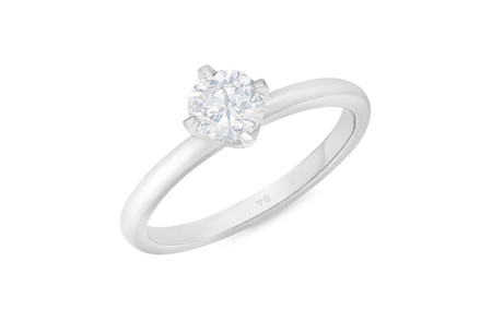 Compass: Brilliant Cut Solitaire Diamond Ring