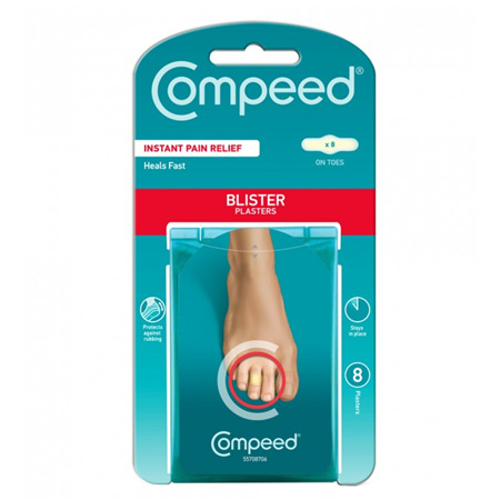 COMPEED BLISTER ON TOES 8 PACK