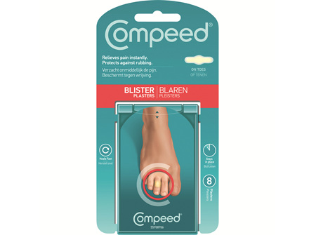 COMPEED Blister On Toes 8pk