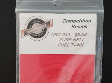 Competition Resins 1/25 Pure Hell Fuel Tank (CRC-044)