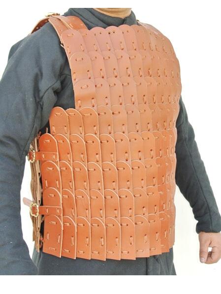 Composite 2 - 5th - 13th Century Leather Lamellar Armour