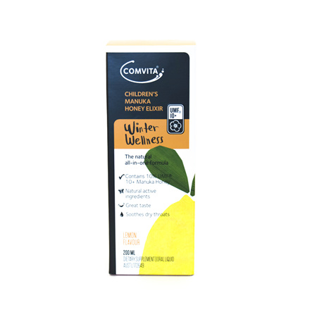 Comvita Children's Winter Wellness Lemon