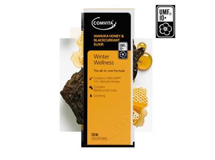 Comvita Manuka Honey And Blackcurrant Elixir