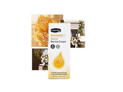 Comvita Medihoney Natural Derma Cream  50g
