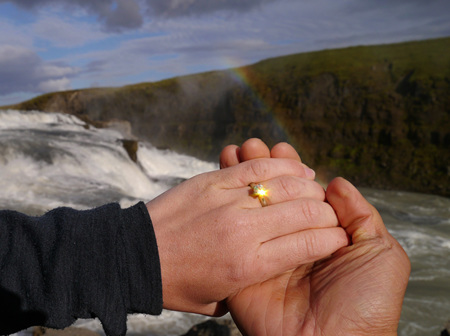 Congratulations Ken and Anna! See Ken's Penguin Puppet Show Proposal in Iceland