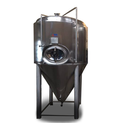 L-Inox Conical Pressure tank 625- 5000L