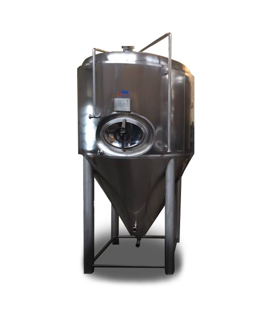 Conical pressure Stainless Steel Beer Tank 2500L