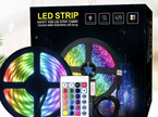 Connectable / Extendable 16 Colour USB Plug Strip Lights with Remote Control - 5m