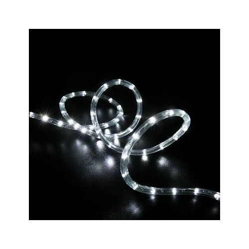 Connectable LED Rope Light 10m 100L - White - Party Lights Company