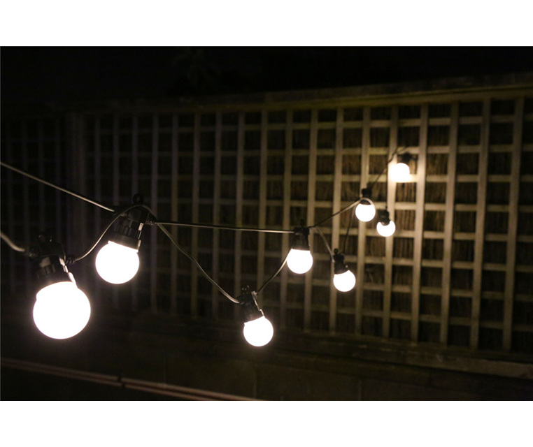Connectable Vintage Festoon LED Lights 5m - Warm White - Party Lights Company