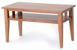Hilton Coffee Table - Open Rails