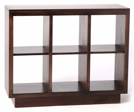 Roma Display Bookcase 6 Bays