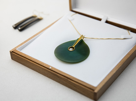 Contemporary Jade Jewellery by The Village Goldsmith & Mountain Jade
