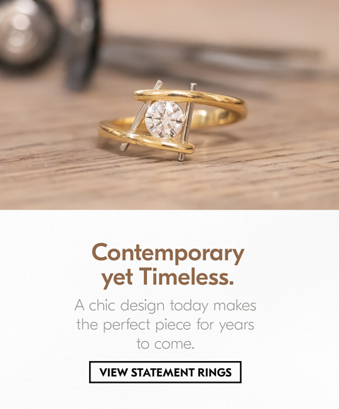 Contemporary Jewellery, The Village Goldsmith, Custom Jewellery