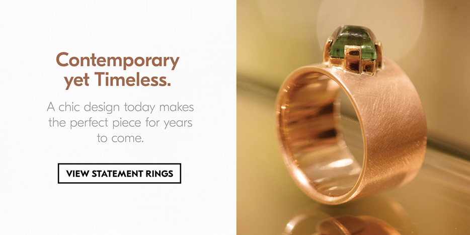 Contemporary Jewellery, The Village Goldsmith, Custom Jewellery