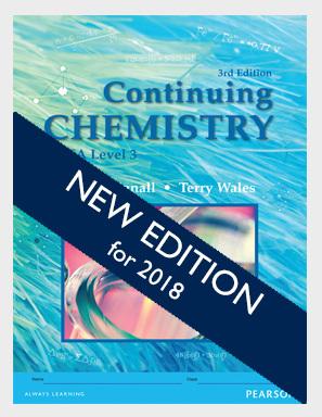Continuing Chemistry Workbook, 4e