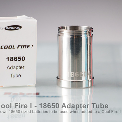 Cool Fire I - 18650 Adapter Tube