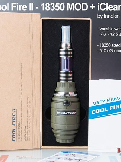 Cool Fire II + iClear 30B