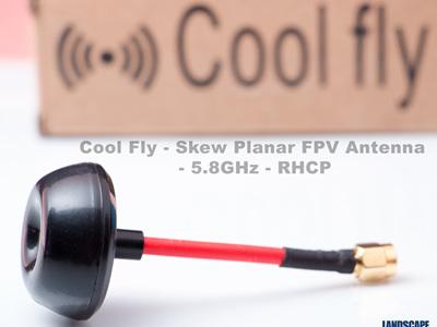 Cool Fly - SMA - Skew Planar FPV Antenna - 5.8GHz - RHCP
