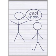 Cool Shoes Fridge Magnet