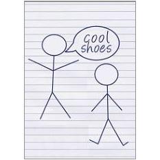 Cool Shoes Fridge Magnet