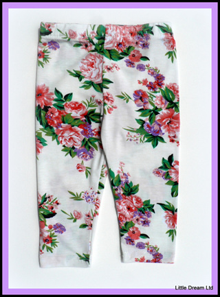 """""""Cool White Florals"""""""