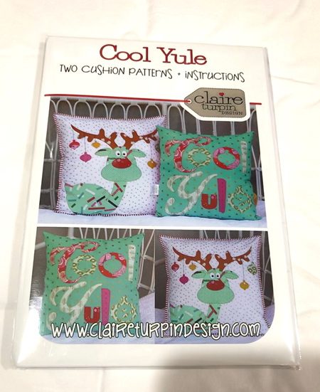 Cool Yule Cushion Pattern from Claire Turpin Design