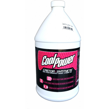 CoolPower Pink Castor/Synthetic Blend Oil  3.8 Litre