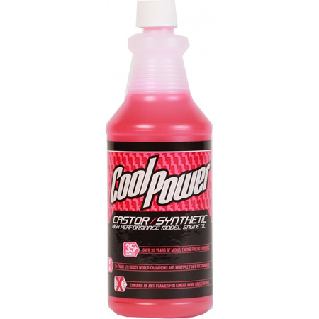 CoolPower Pink Castor/Synthetic Blend Oil 950ml