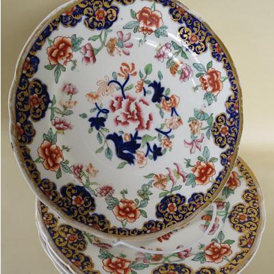 Victorian plates