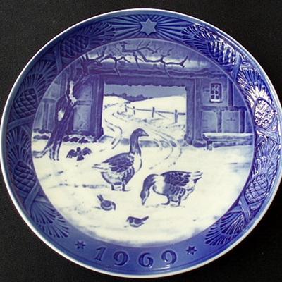 Copenhagen 1969 plate