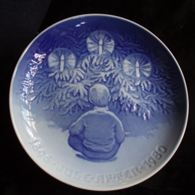 Copenhagen Christmas plate 1980