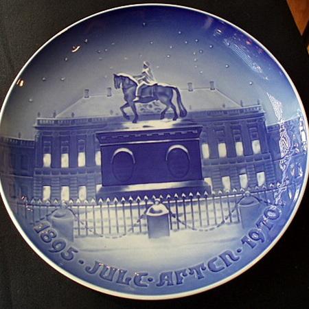 Copenhagen plate 1970