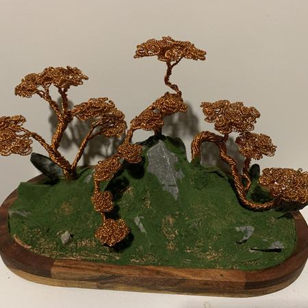 Copper Bonsai Trees